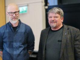 Jesper Sollerman oh Peter Linde. Foto Magnus Näslund