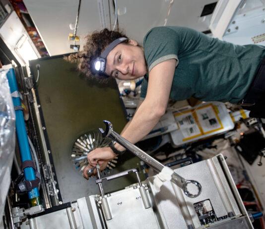 Jessica Meir: Foto: NASA Johnson