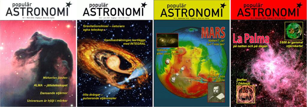 Populär Astronomi 2002