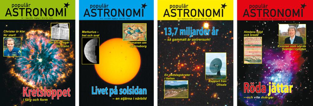 Populär Astronomi 2003