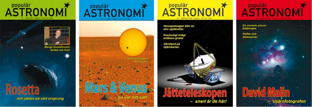 Populär Astronomi 2004