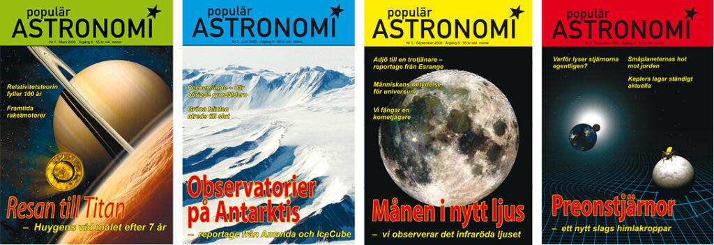 Populär Astronomi 2005