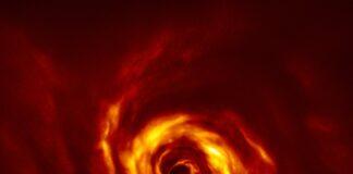 Skivan runt AB Aurigae Bild: ESO/Boccaletti et al.