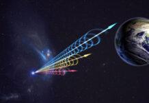 FRB (Bild: Jingchuan Yu, Beijings planetarium, via NRAO)