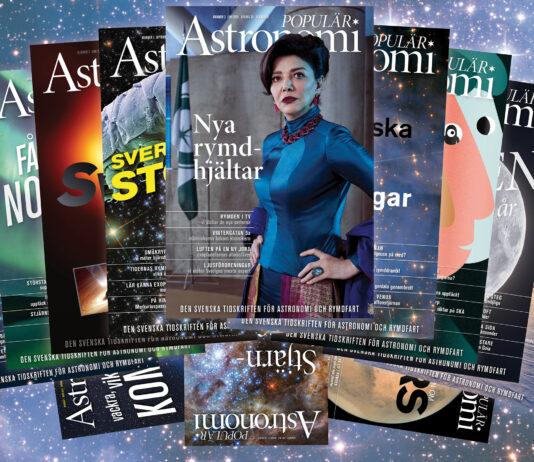 Populär Astronomi, omslag 2020